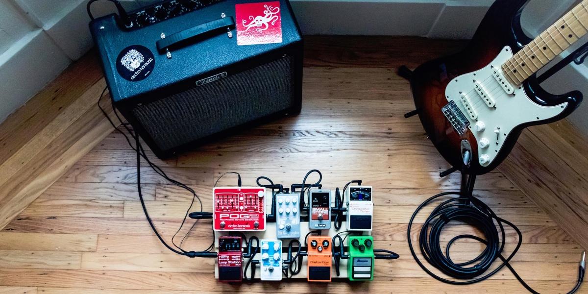 pedal board guitare