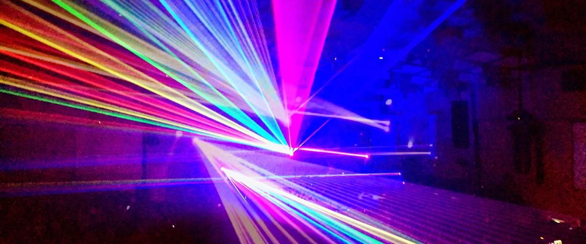 spectacle lumineux DMX