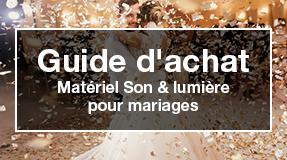 matériel sono light mariage
