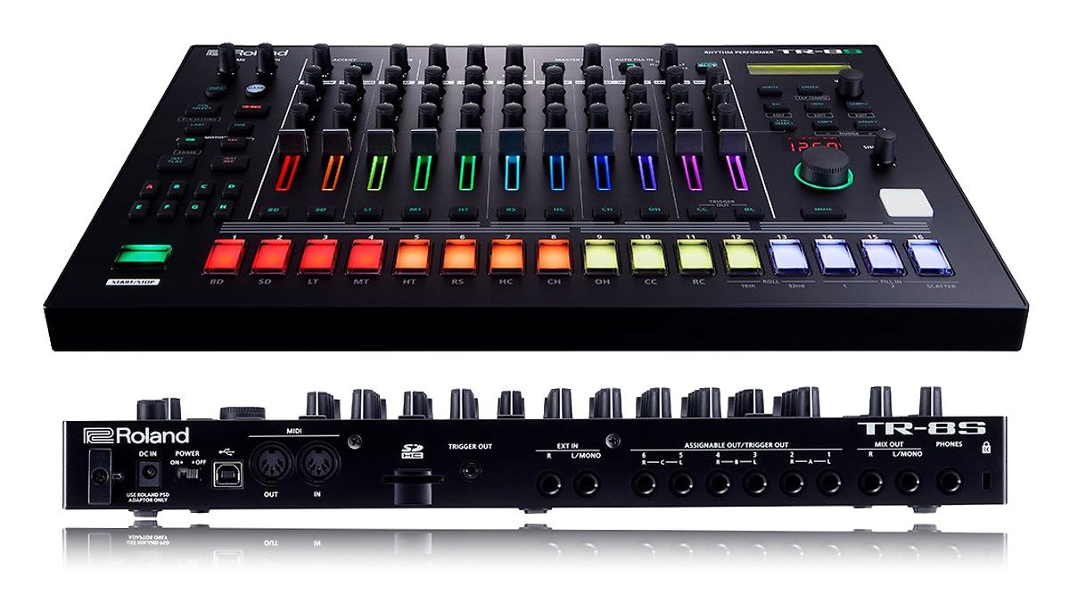roland aira TR-8S rhythm performer