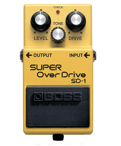 pedale overdrive boss sd-1
