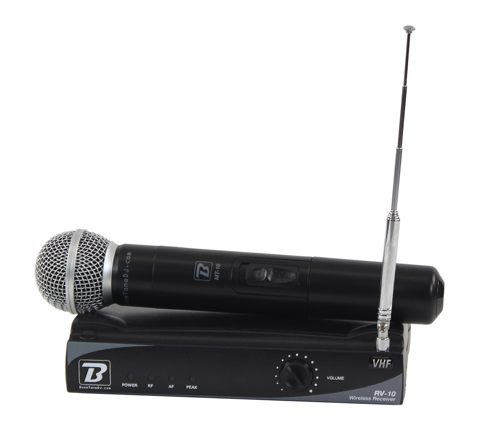 Micro chant VHF 10M F8