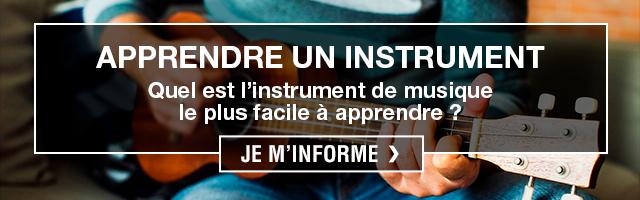 apprendre un instrument
