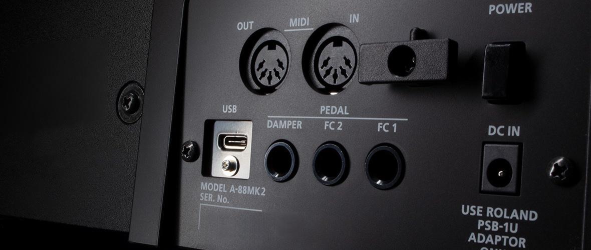 Roland clavier midi 2.0