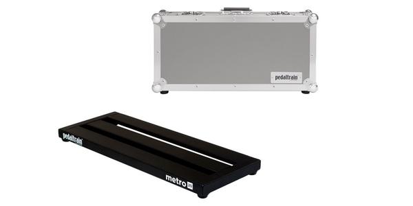 pedal board pedaltrain metro 20 flight case