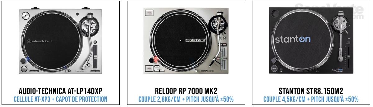 platine vinyle semi-pro