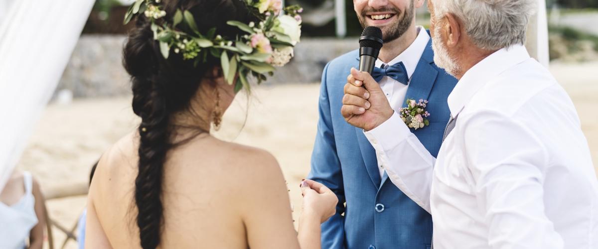 micro sans fil animation mariage