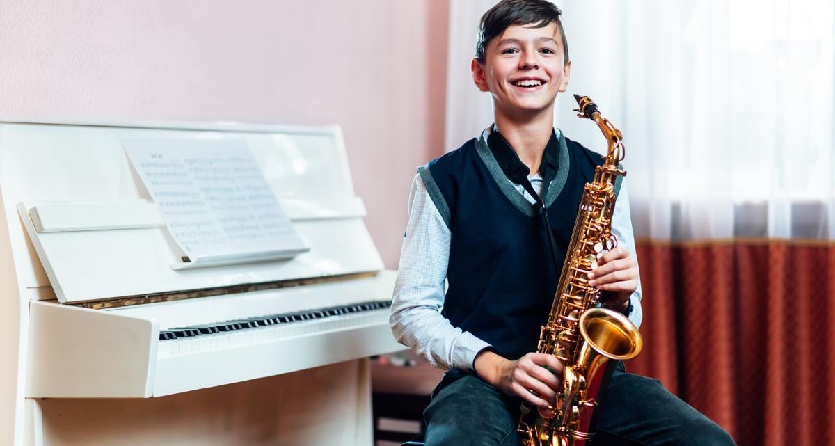 eveil musical saxophone enfant