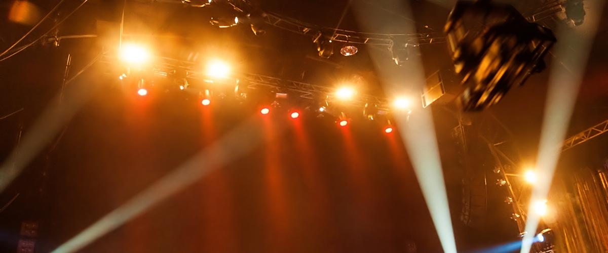eclairage concert