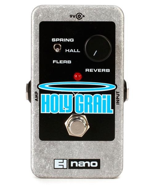 pedal reverb Electro harmonix holy grail nano