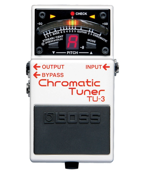 pedale tuner boss tu-3