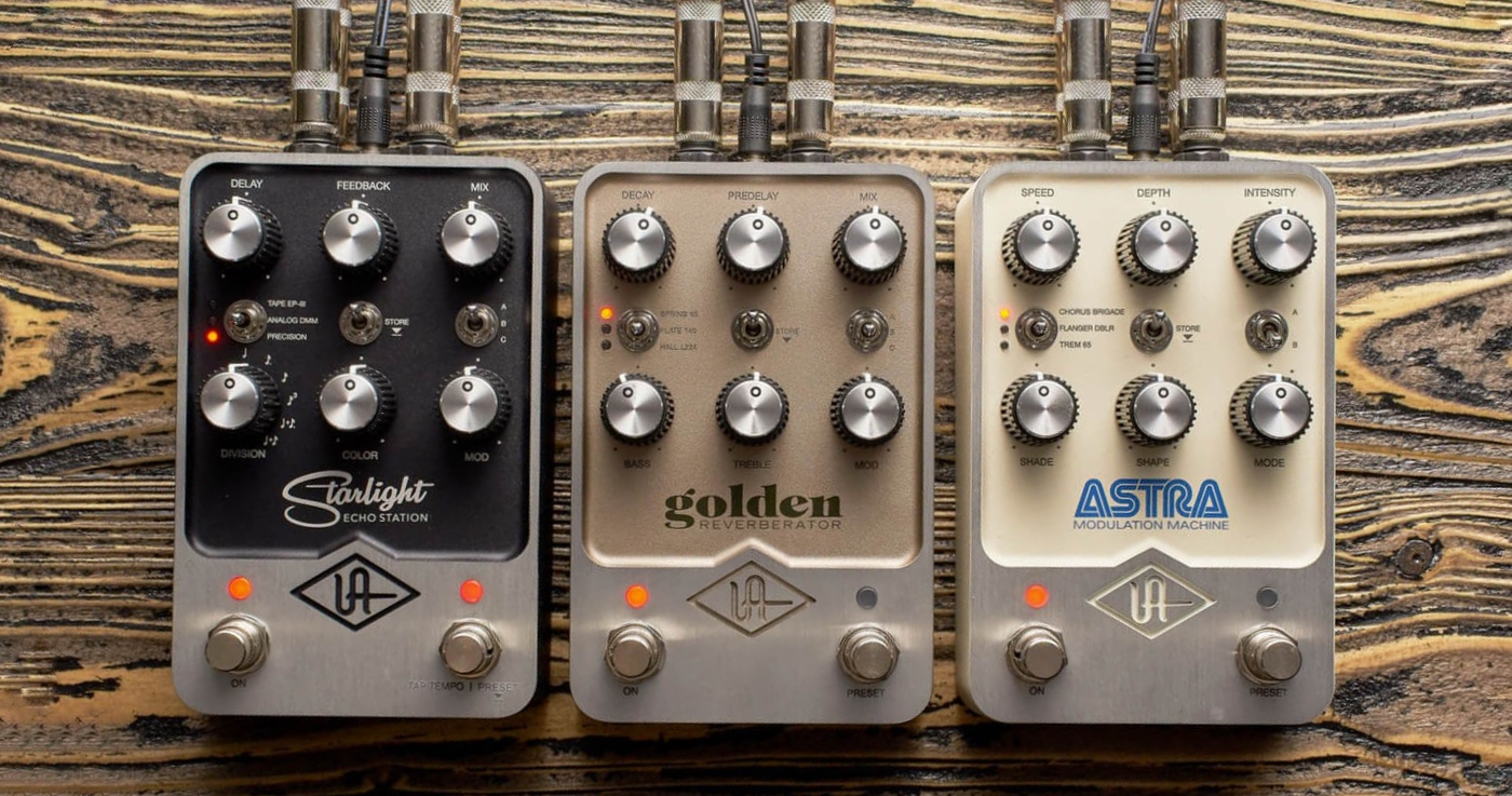 universal audio uafx pedales effets