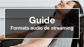 formats audio de streaming