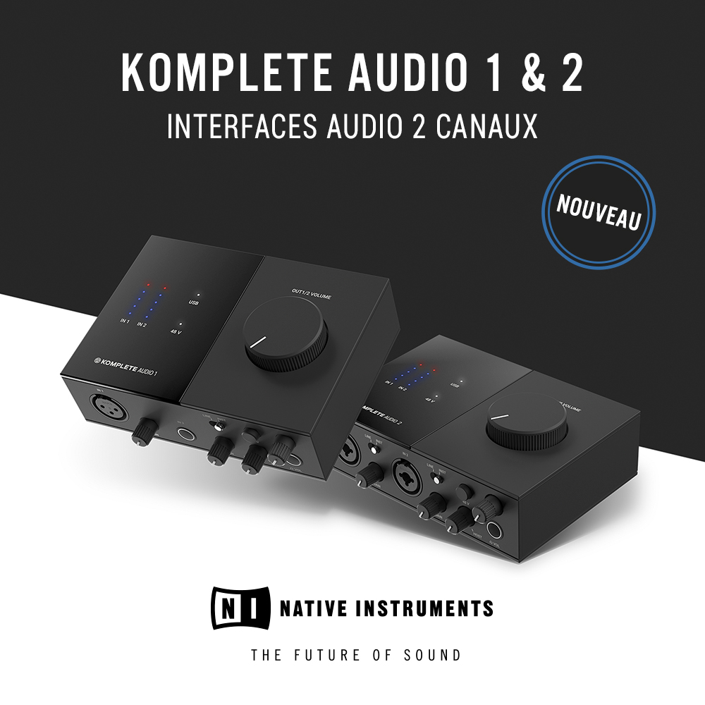 NI Komplete Audio mini