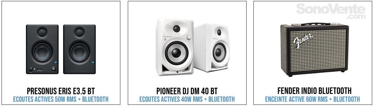 enceinte Bluetooth pour platine vinyle