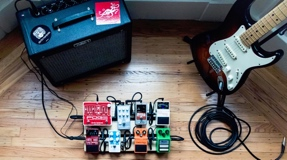 pedalboard pedale effets cms