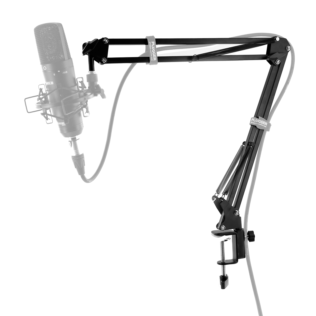 plugger studio podcast arm