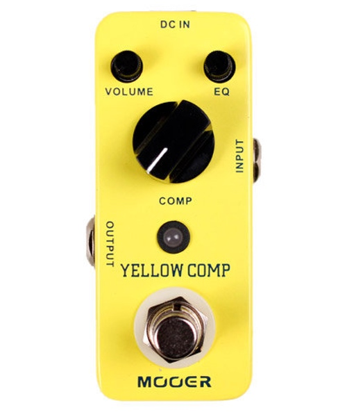 pedale compresser mooer yellow comp