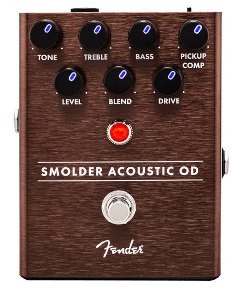 pedale overdrive fender smolder acoustic