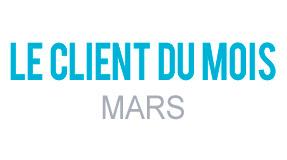 Client du Mois Mars 2017