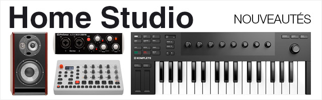 Home Studio nouveautés
