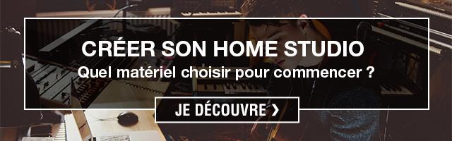 comment créer home studio
