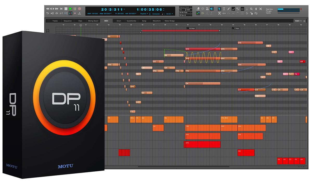 motu digital performer 11