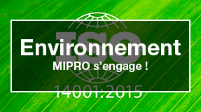 mipro qualité micro environnement