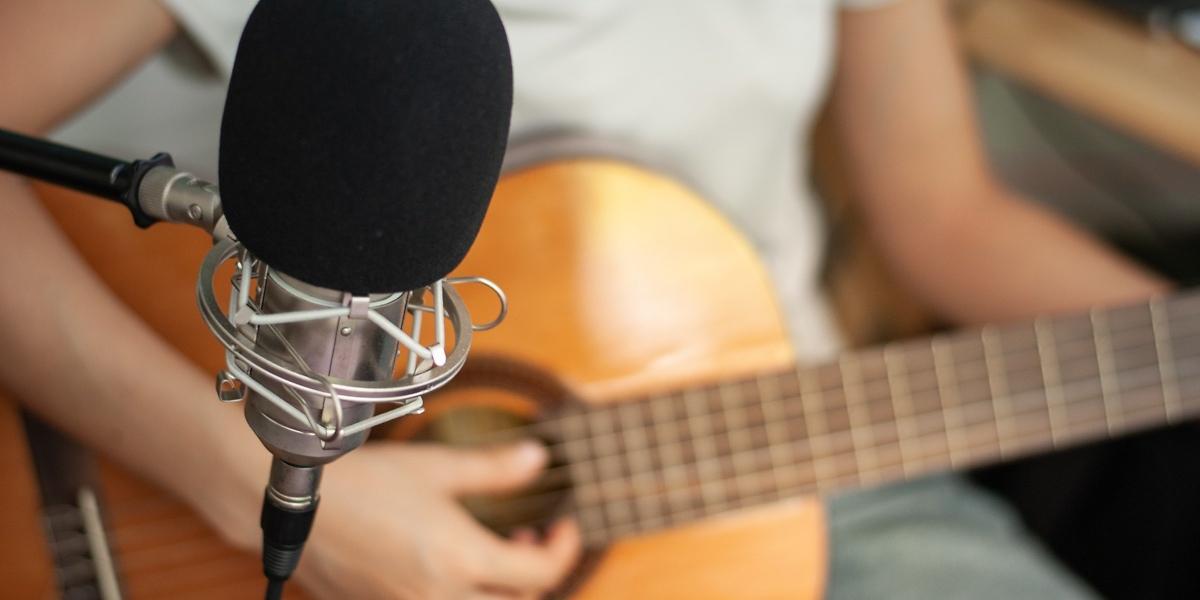 micro pour guitare acoustique
