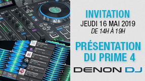 Denon DJ Day : Prime 4
