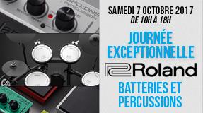 Journee Roland Batteries et Percussions