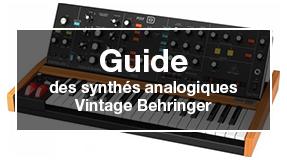 guide des synthés vintage behringer