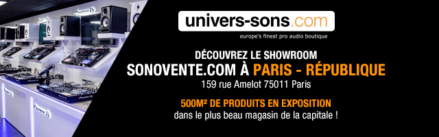 Univers Sons showroom