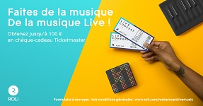ROLI Block Ticketmaster