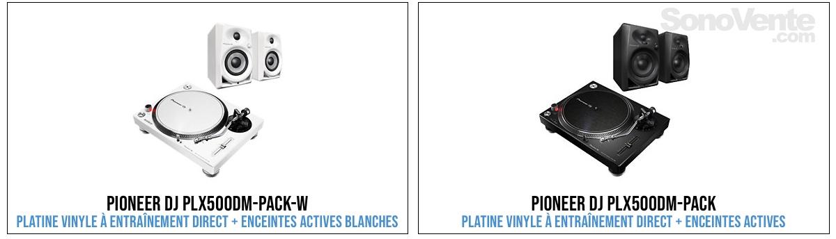 pack platine vinyle enceintes actives.