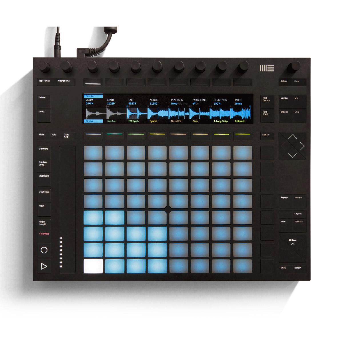 Contrôleur remix et production Ableton Push 2