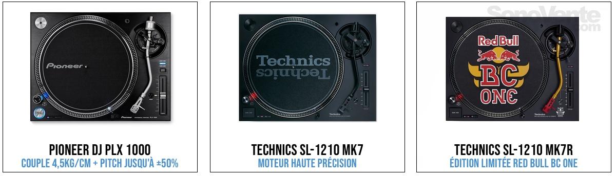 platine vinyle dj professionelle
