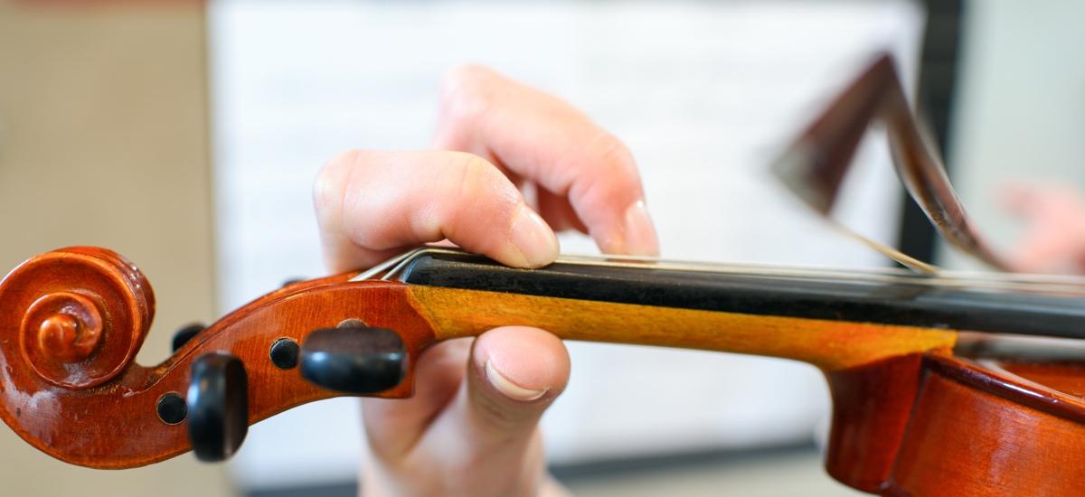 eveil musical violon enfant