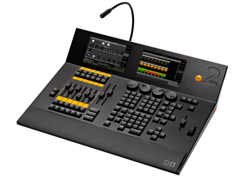 console dmx MA LIGHTNING DOT2 CORE