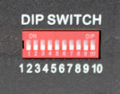 DIP Switch DMX