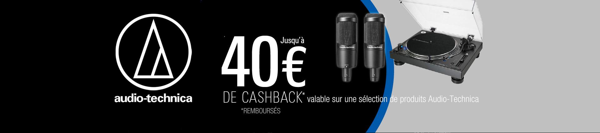Cashback Audio Technica