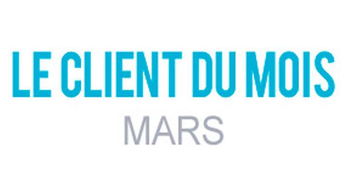 Client du mois Mars 2016