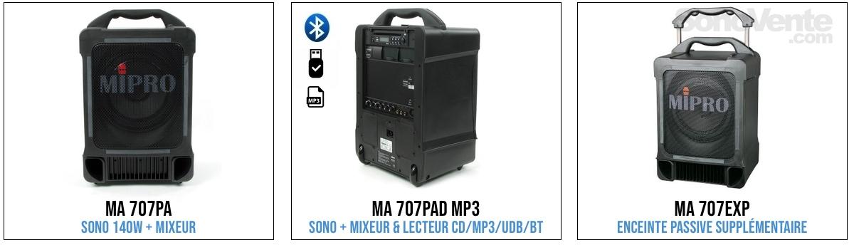 mipro ma707 series