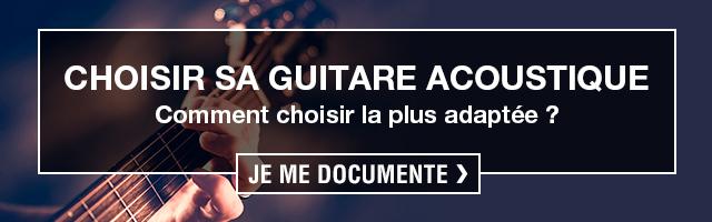 comment choisir guitare acoustique