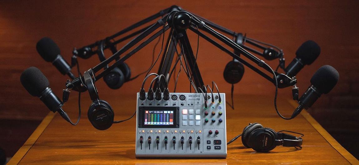 podcast zoom podtrack p8