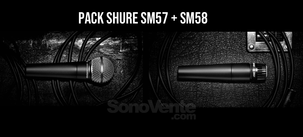 Shure Pack SM57 SM58