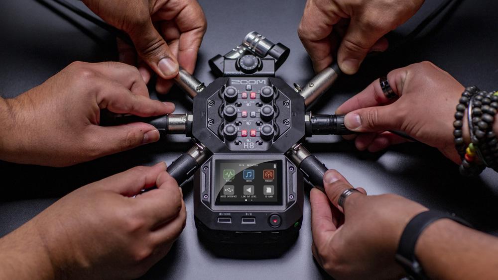 Zoom H8 enregistreur numerique