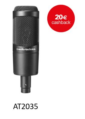 Audio Technica Cashback