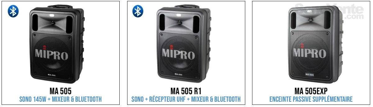 mipro ma505 sono portable