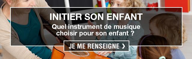 initier enfant à la musique